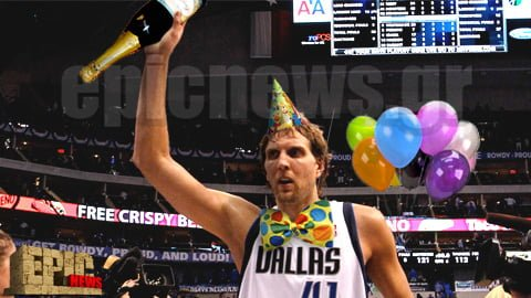 Nowitzki NBA party
