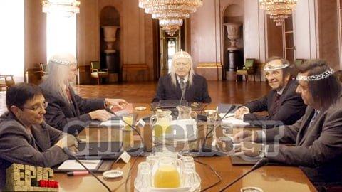 Το συμβούλιο των αρχηγών