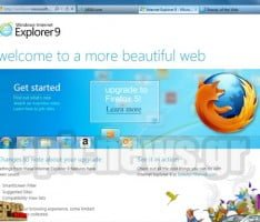 Internet Explorer 9 update