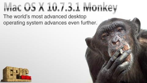 Το νέο OS X 10.7.3.1 Monkey