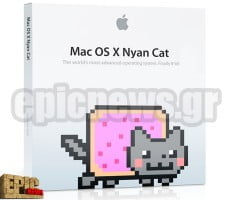 Mac OS X 10.8 Nyan Cat