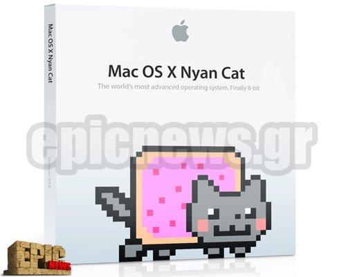 Mac OS X 10.8 Nyan Cat