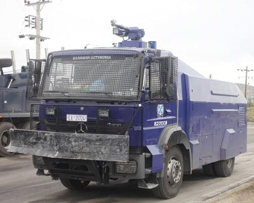 """""""Αίας"""" το βαρύ πυροβολικό της ελληνικής αστυνομίας"""
