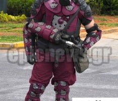ΜΑΤ νέα στολή Hello Kitty